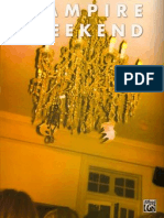 Vampire Weekend- Songbook