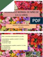 7 DESARROLLO NORMAL DE NIÑO DE 6 A 12