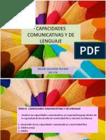 9 CAPACIDADES COMUNICATIVAS Y DE LENGUAJE