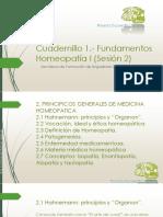 Cuadernillo 2 Homeopatía 1