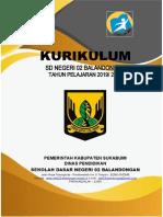 Kurikulum 2019-2020