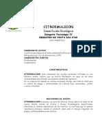Ficha Tecnica Citroemulsion