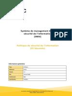 Système de management de la sécurité de l'information