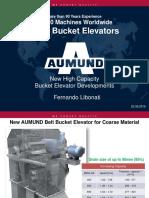 NEW HIGH CAPACITY BUCKET ELEVATOR DEVELOPMENTS