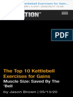 The Top 10 Kettlebell Exercises for Gains