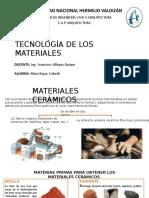 Presentación de tecnología de materiales