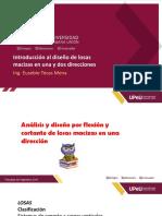 Sesion 13 - Análisis y diseño por flexión y cortante de losas macizas en una dirección .pdf