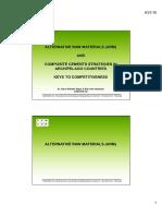 ALTERNATIVE RAW MATERIALS AND COMPOSITE CEMENT STRATEGIES_HANS-WILHELM MEYER