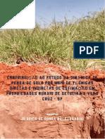 Contribuicao ao estudo das dinamicas de perda de solo por meio de tecnicas diretas e indiretas de estimacao em propriedades rurais de Getulina e Vera Cruz  SP.pdf