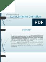 Conocimiento Científico (1)