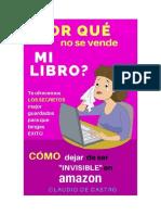 De Castro Claudio - Por Que No Se Vende Mi Libro