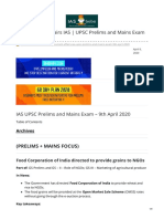 iasbaba.com-Daily Current Affairs IAS  UPSC Prelims and Mains Exam  9th April 2020