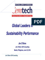 GLOBAL LEADERS IN SUSTAINABILITY PERFORMANCE_JIM O'BRIEN