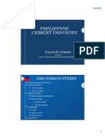 GROWTH AND TRANSFORMATION OF THE PHILIPPINES CEMENT INDUSTRY_ERNESTO ORDONEZ