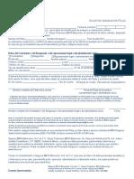Formato de cancelación de póliza de seguros 03-2020