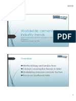 WORLDWIDE CEMENT INDUSTRY TRENDS AND FORECAST TO 2018_DAVID BOWERS