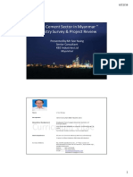 THE CEMENT SECTOR IN MYANMAR-INDUSTRY SURVEY AND PROJECT REVIEW_SOE NAING