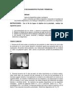 TALLER DE DIAGNOSTICO PULPAR Y PERIAPICAL