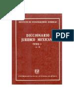Diccionario Juridico Mexicano - Tomo I.pdf