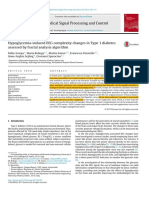 [A] Hypoglycemia-induced EEG complexity changes in Type 1 diabete