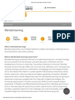 Blended Learning _ Higher Education Academy
