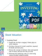 Lecture Topic 3d_stock valuation
