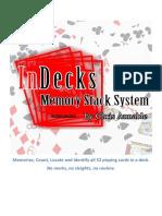 Chris Annable - InDecks Memory System