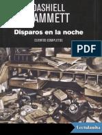 Disparos en la noche - Dashiell Hammett.pdf
