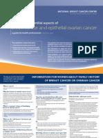 NBOCC Advice Familial Breast Cancer