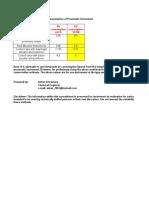 Estimation for Instrument Air Consumption of Pneumatic Instrument