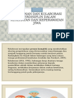 Kolaborasi dan Interdisiplin Perawat Jiwa [Autosaved]