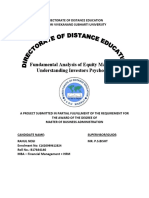 4105. FUNDAMENTAL ANALYSIS OF EQUITY MARKET & UNDERSTANDING INVESTORS PSYCHOLOGY – INDIA INFOLINE [FIN].doc