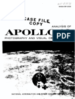 Analysis of Apollo 10 Photography and Visual Observations