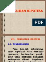 07. Pengujian Hipotesa