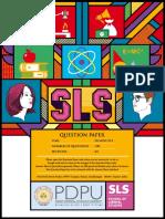 SLS Question Paper 2019