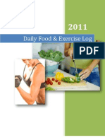 31 Day Food & Exercise Log