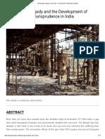 Bhopal gas tragedy case study - Development of Absolute Liability.pdf