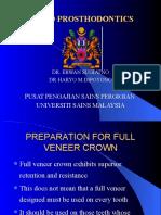 GTC 2 - PREPARATION FOR FULL VENEER CROWN (ppsg lectures)