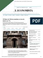El Banco de México mantiene su tasa de interés en 7% _ El Economista