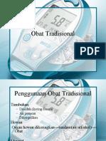 6. Registrasi dan Penamaan Obat Tradisional