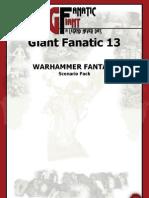 GF13 WHFB Scenarios