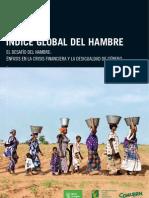 Indice Global Del Hambre 2010