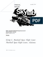 MSFC Skylab Extravehicular Activity Development Report