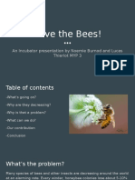 copy of save the bees
