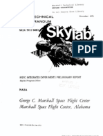 MSFC Skylab Integrated Experiments Preliminary Report