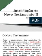 Introdução Ao Novo Testamento - II
