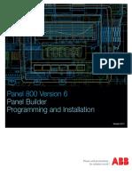 3BSE069489-601 - En Panel 800 Version 6 Panel Builder Programming and Installation 6.0-1
