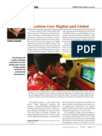 Education Goes Digital and Global