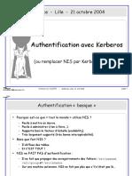 Authentification avec Kerberos