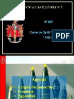 C 4.1 - Cargas_Propulsoras_Projecteis_e_Espoletas